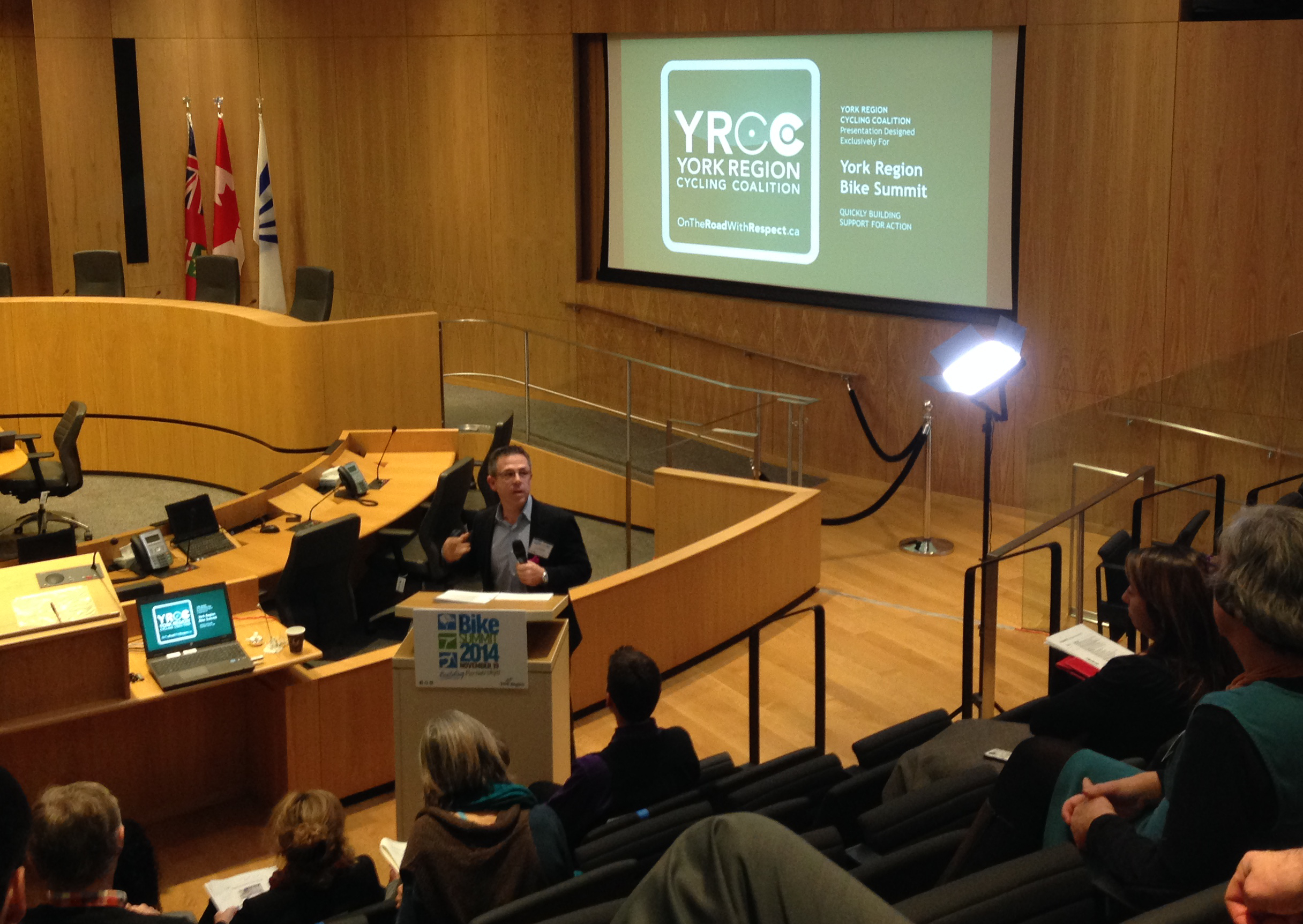York Region Bike Summit a Big Success.