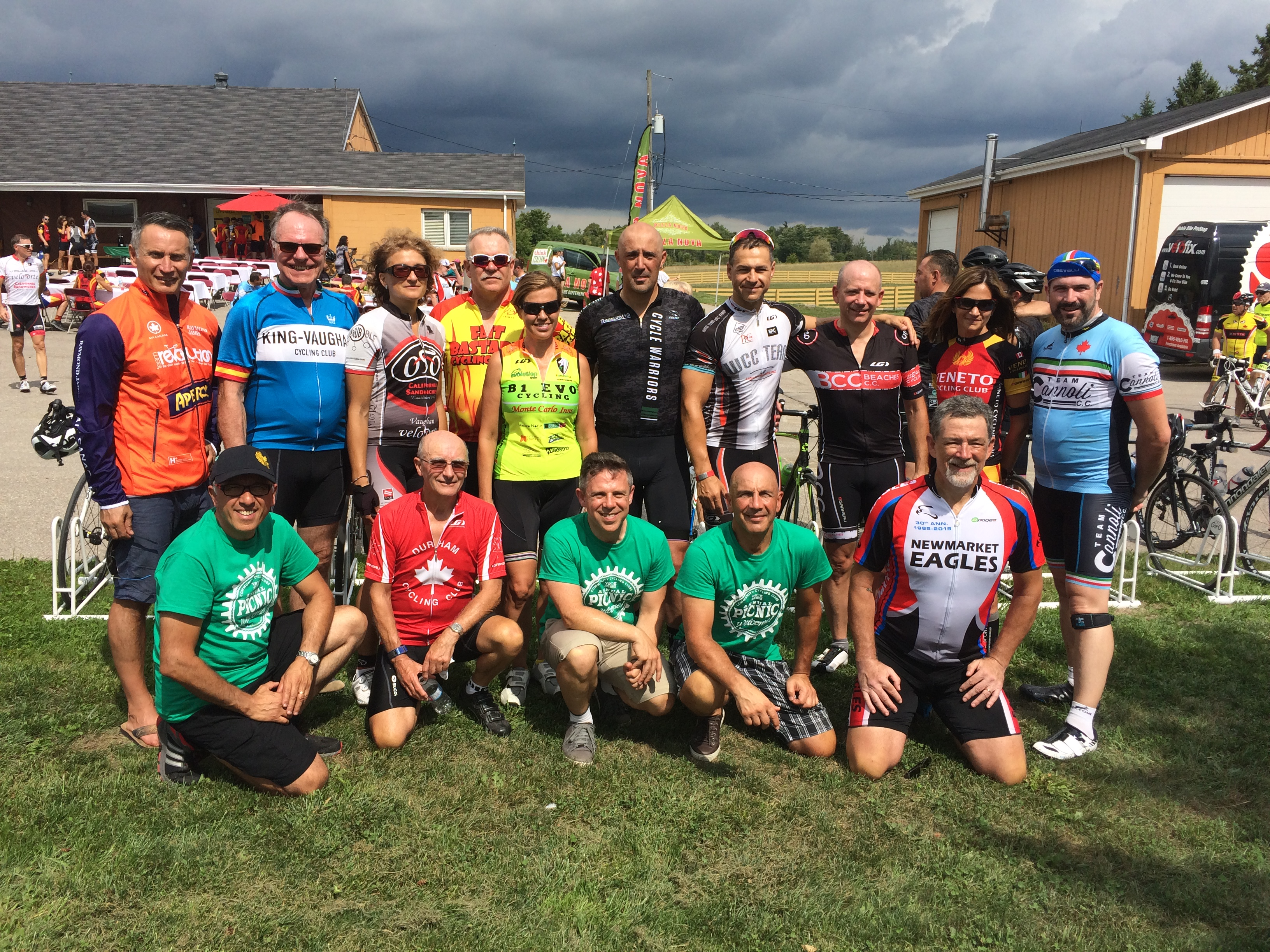 3rd Annual YRCC Picnic Attended by Over 300 Cyclists.