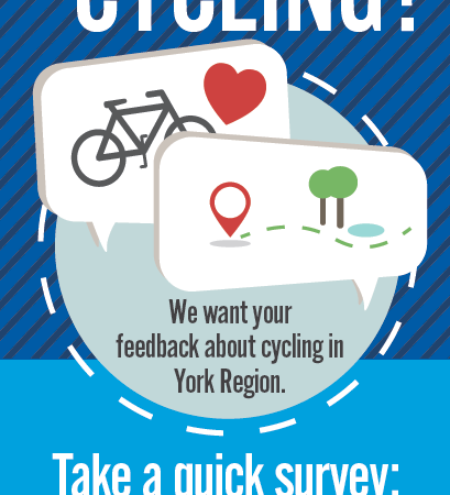 Take York Region's Cycling Survey